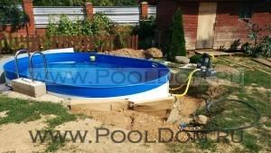 Овальный бассейн Лорана