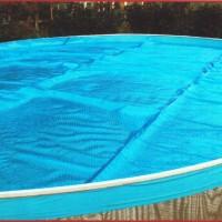 Круглое плавающее покрывало для бассейна